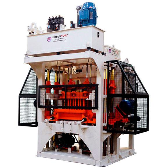 Máquina de bloco de concreto