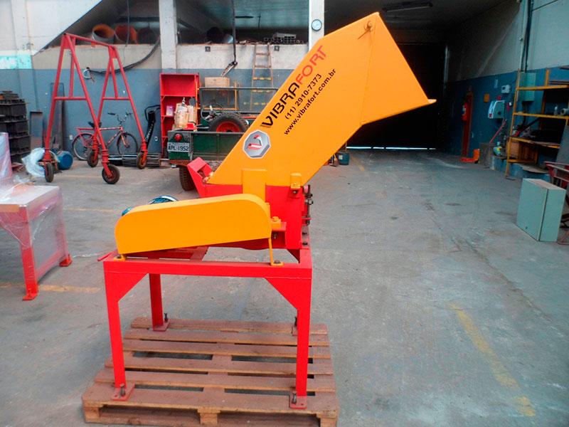 Máquina de triturar bloco de concreto